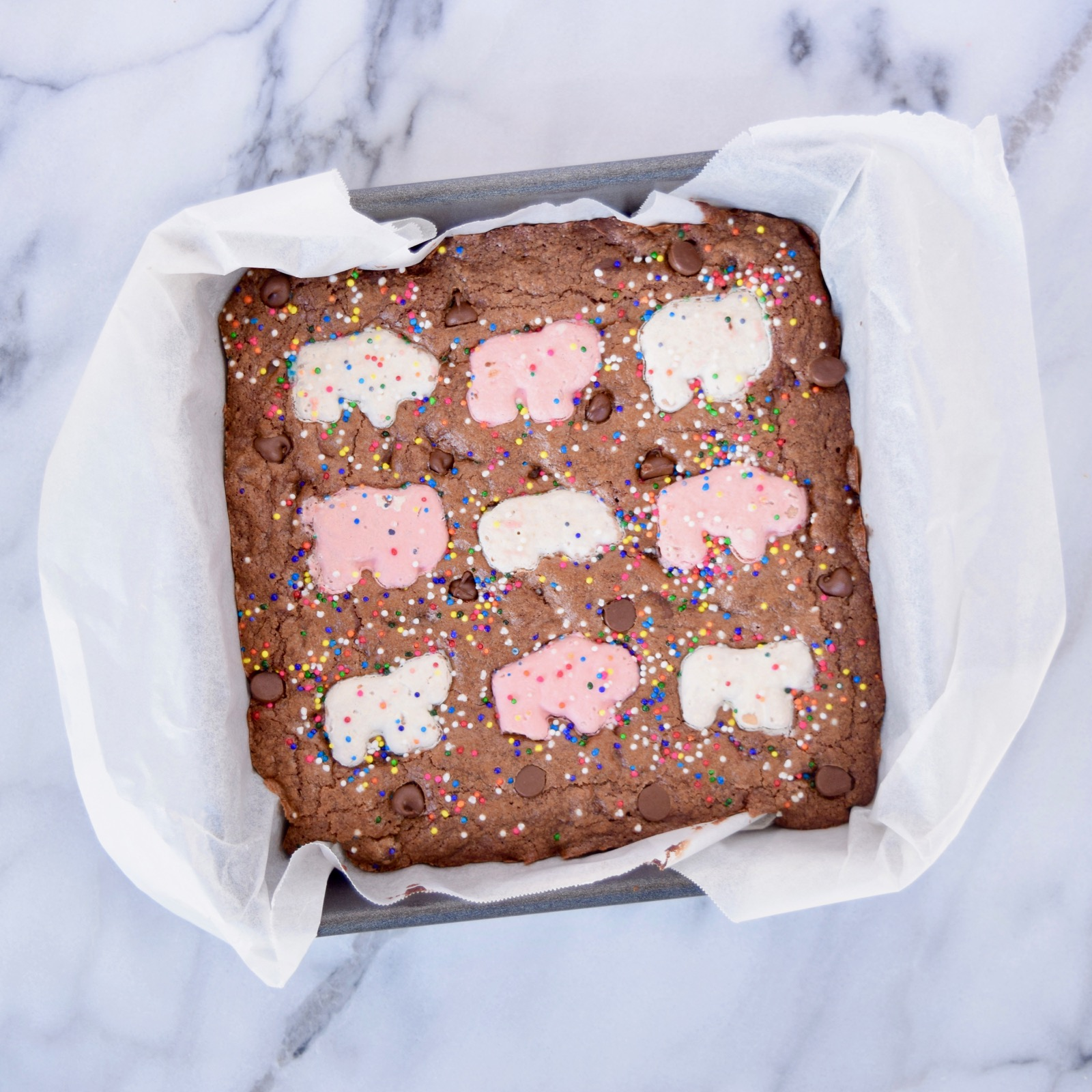 Circus Cookie Brownies Recipe