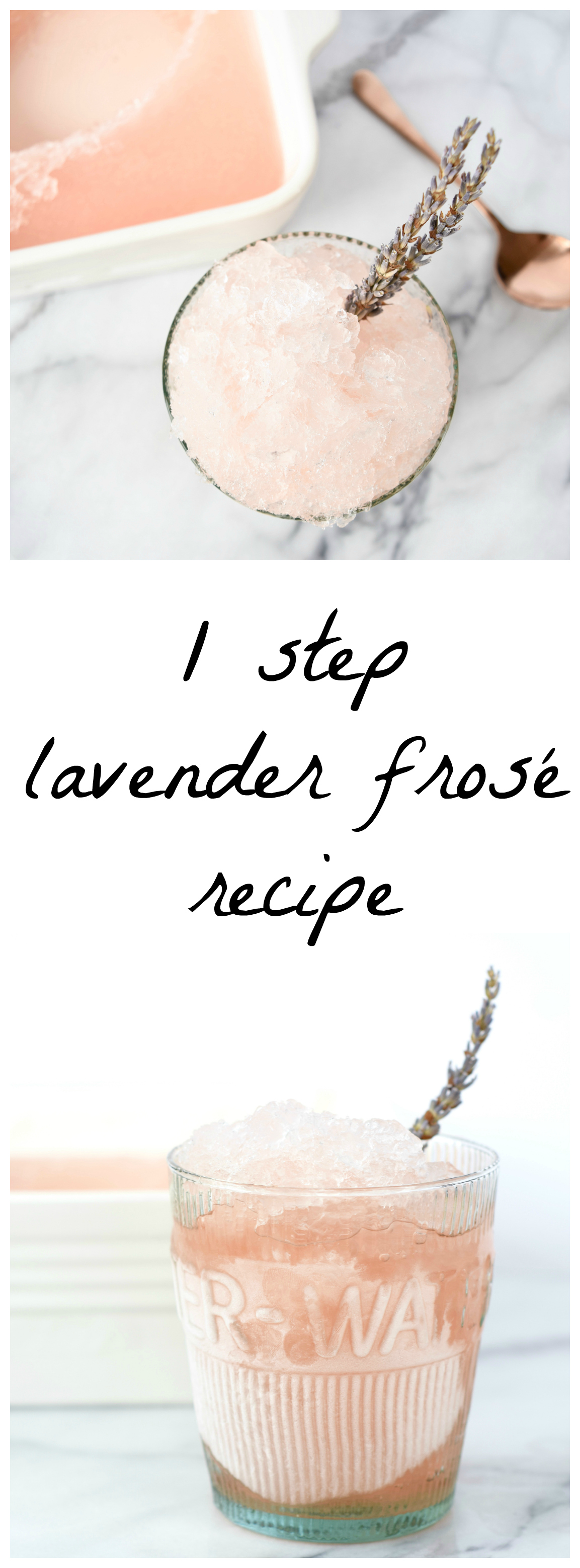 1 Step Lavender Frose Recipe