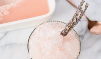 Lavender Frosé Recipe