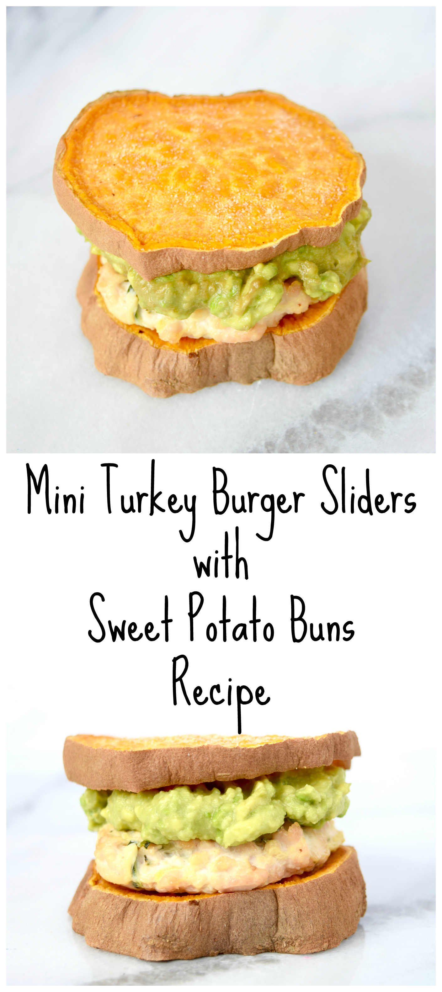 Mini Turkey Burger Sliders With Sweet Potato Buns Recipe