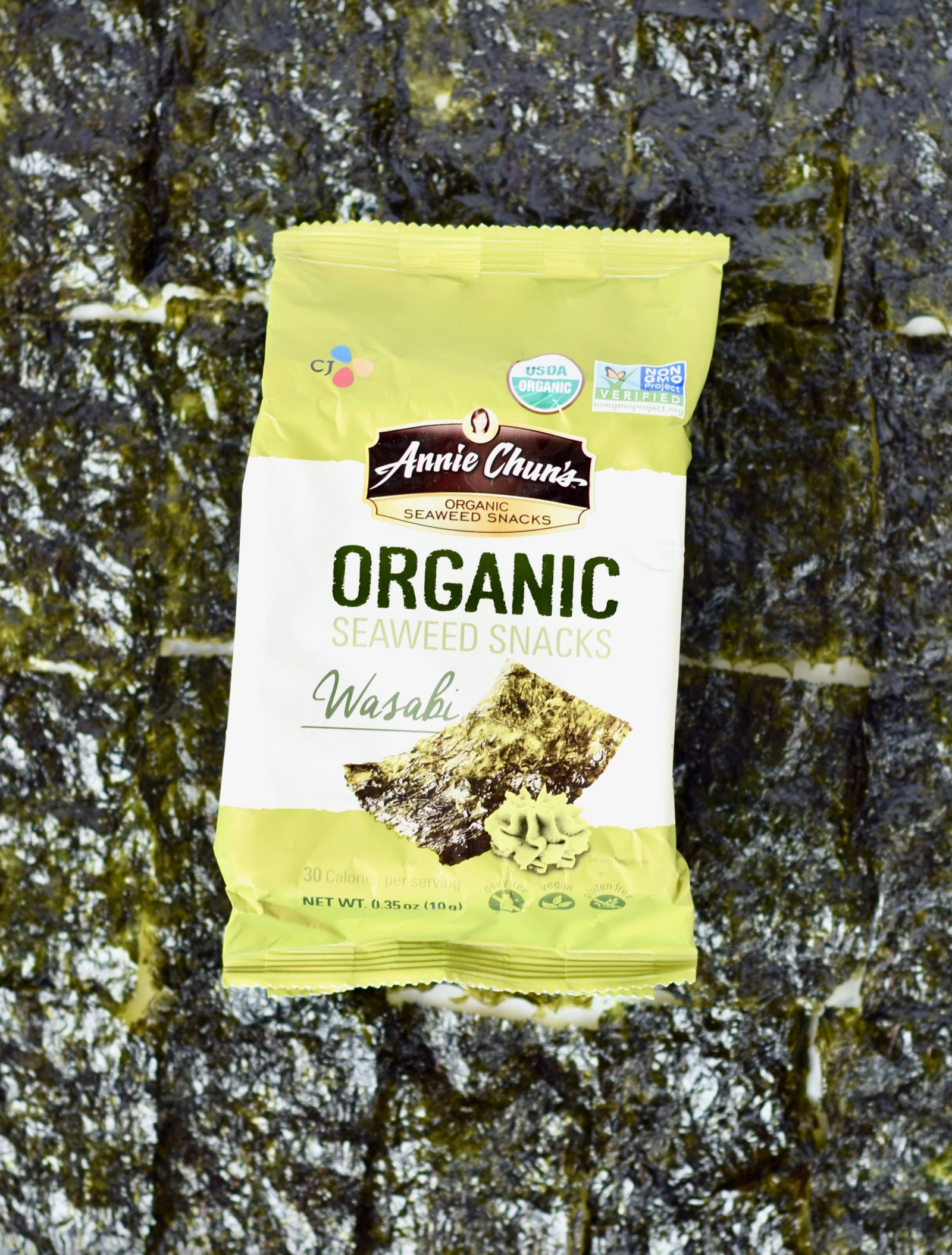 Annie Chun's Seaweed Snack Low Sugar