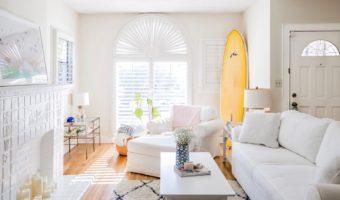 Beach Bungalow Living Room