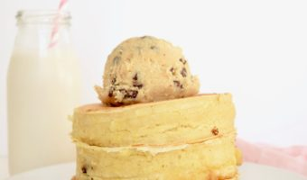 Cookie Dough Stuffed Pancakes