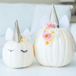 DIY Unicorn Pumpkin Tutorial
