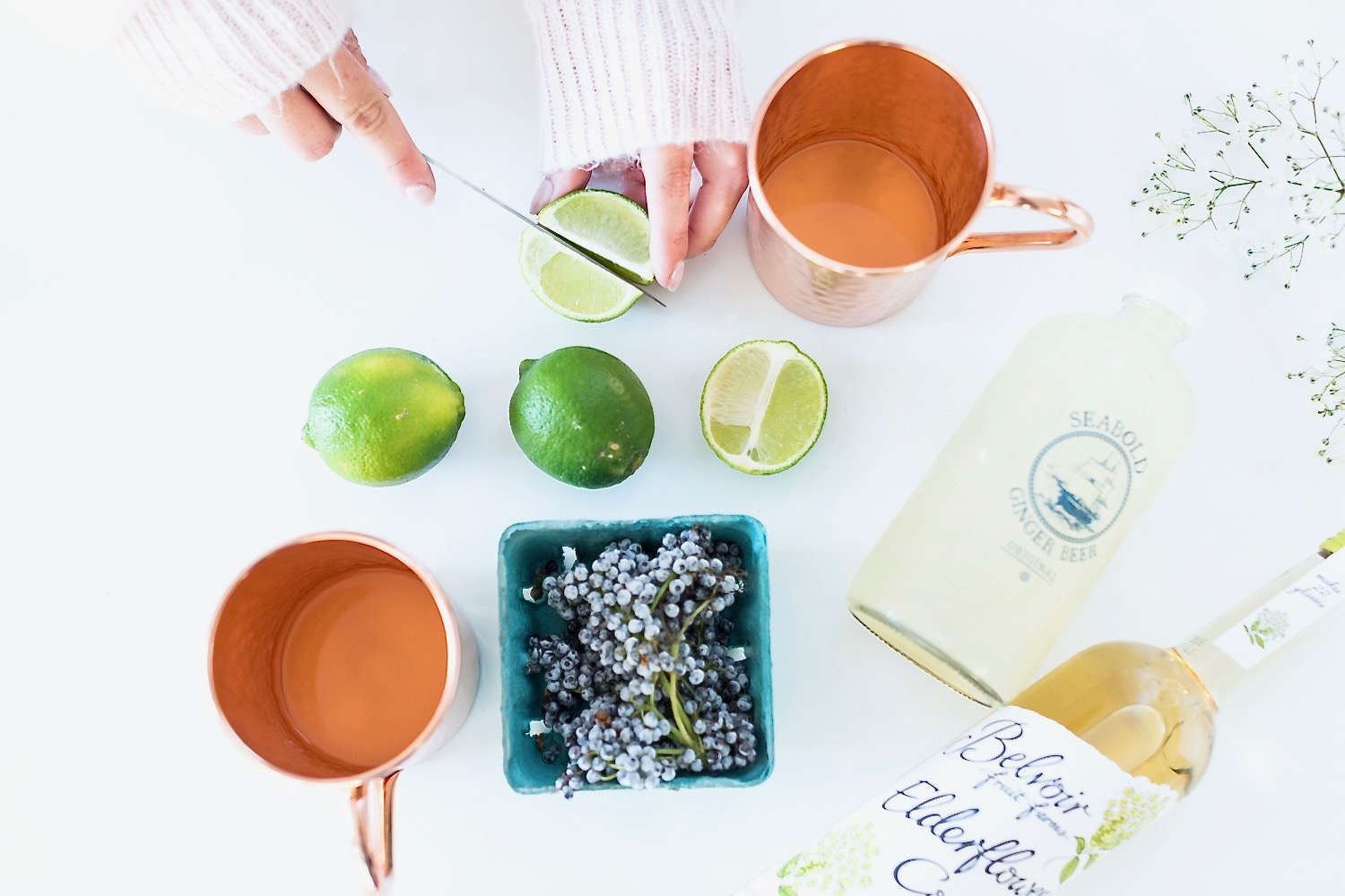 Elderberry Moscow Mule Recipe