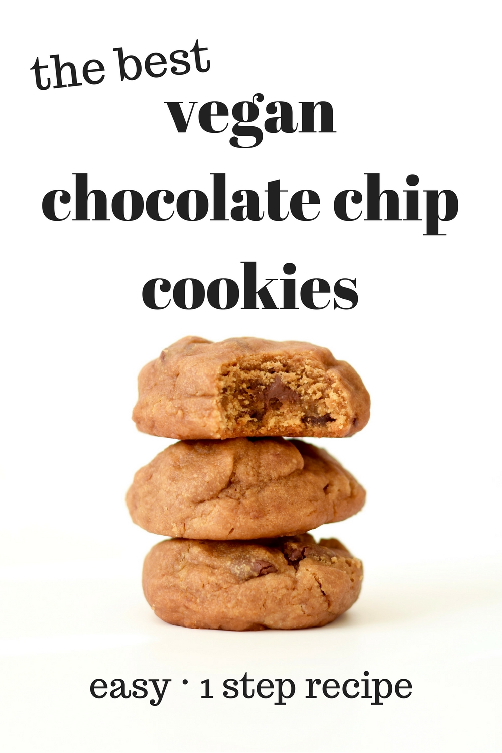 The Best Vegan Chocolate Chip Cookies Recipe
