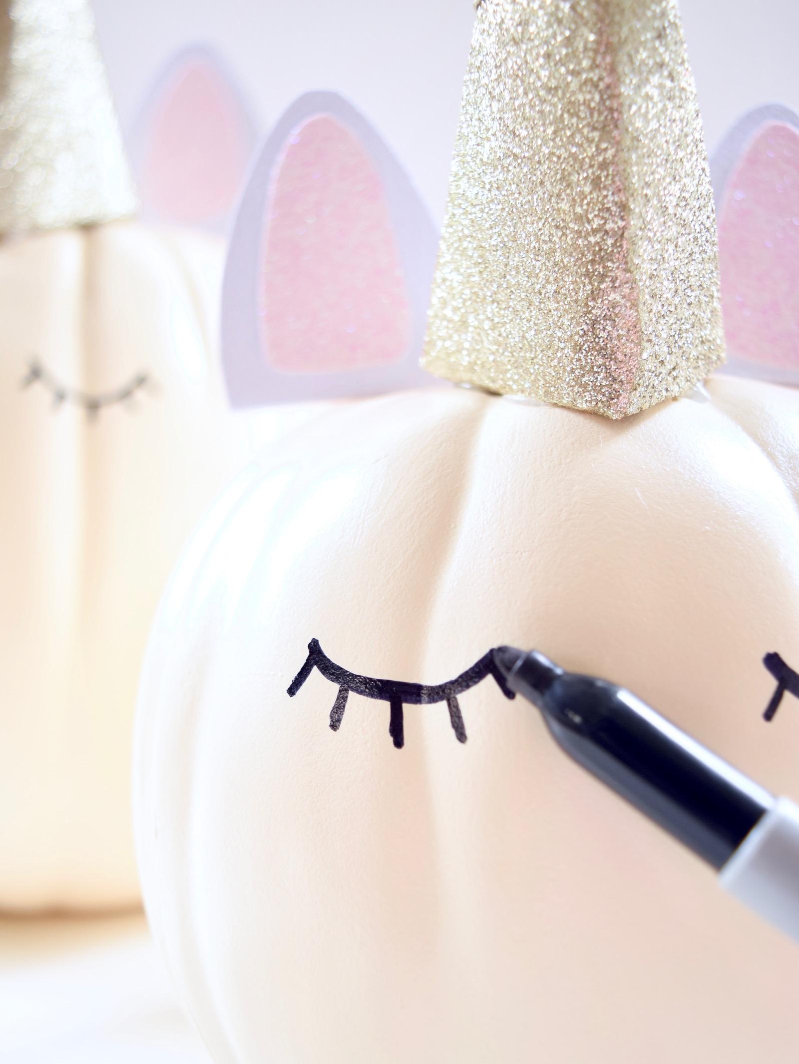 Unicorn Pumpkins Tutorial