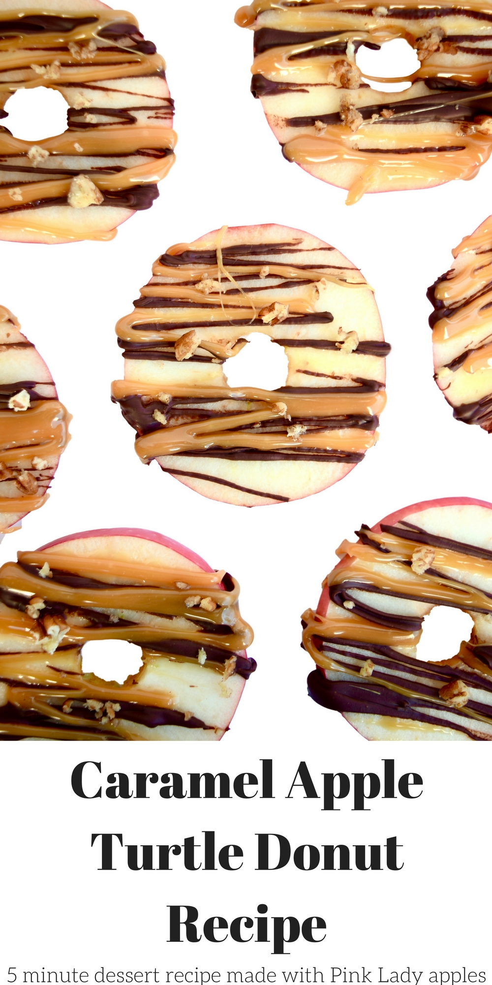 Caramel Apple Turtle Donut Recipe
