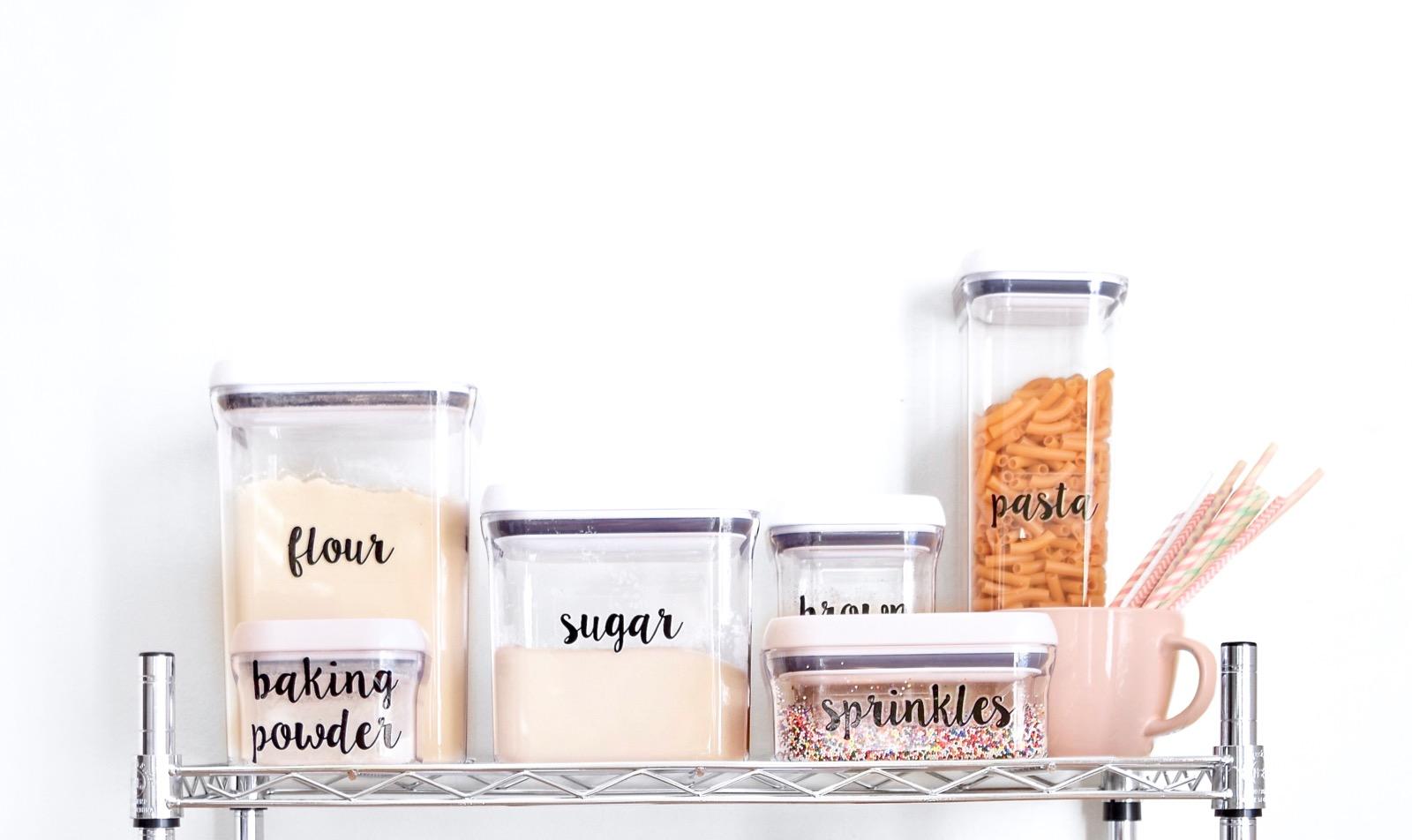 Pantry Baking Essentials