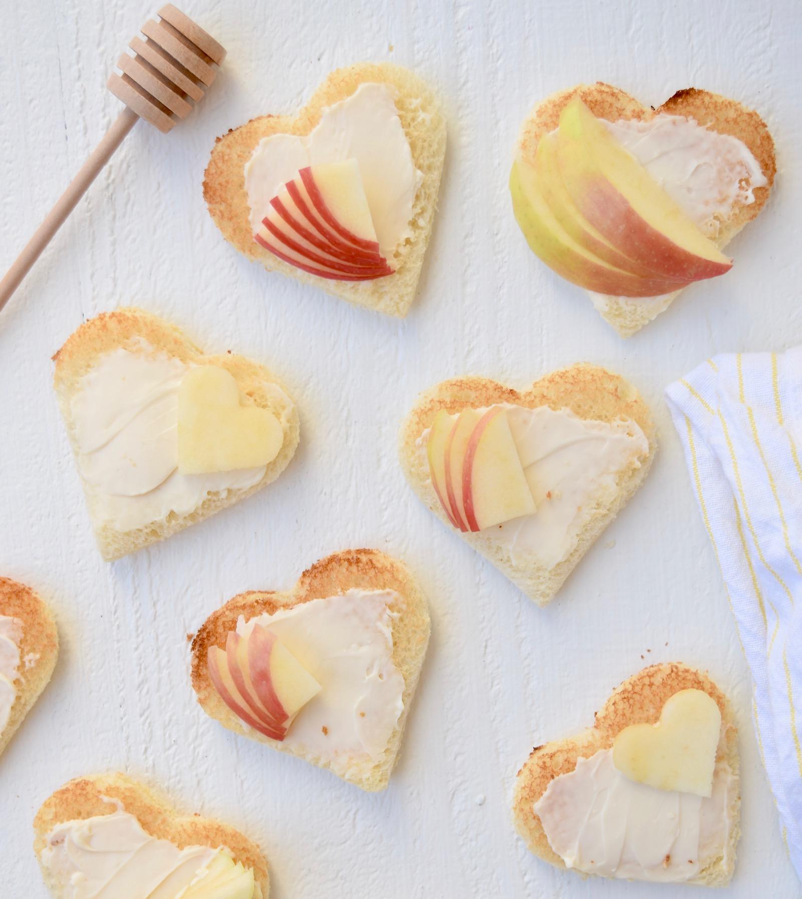Apple Brie Honey Sandwiches Recipe