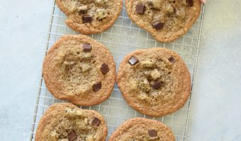The Toasted Pine Nut's Chewy Chocolate Chip Cookie Recipe