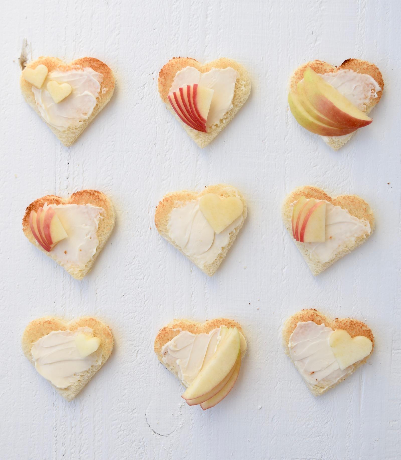 Valentine's Day Sandwich Recipe