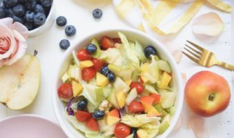 Rose Blueberry Summer Salad Recipe