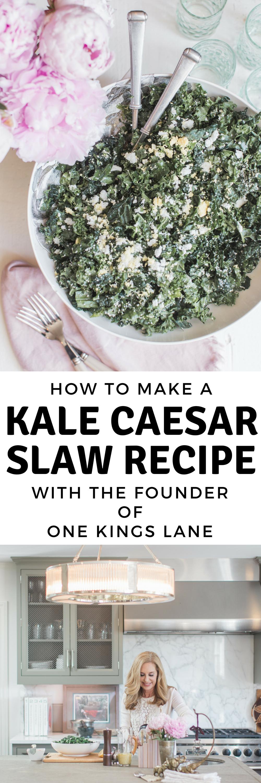 KALE CAESAR SLAW RECIPE