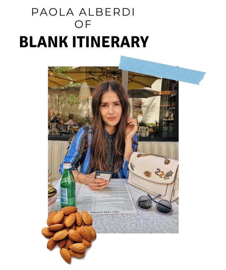 blank itinerary kitchen