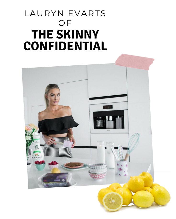 lauryn evarts of The Skinny confidential