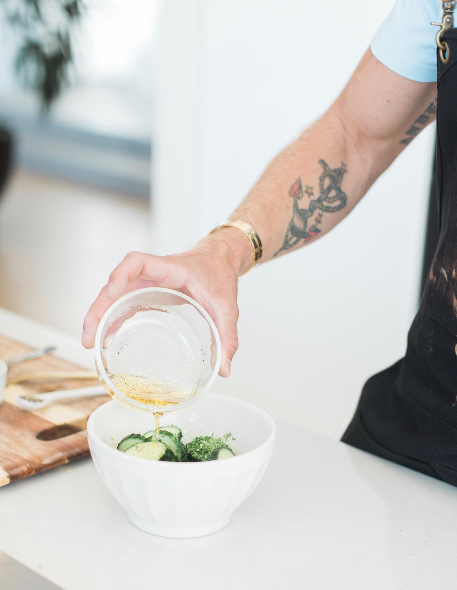 Easy Apple Cider Vinegar Cucumber Salad Recipe