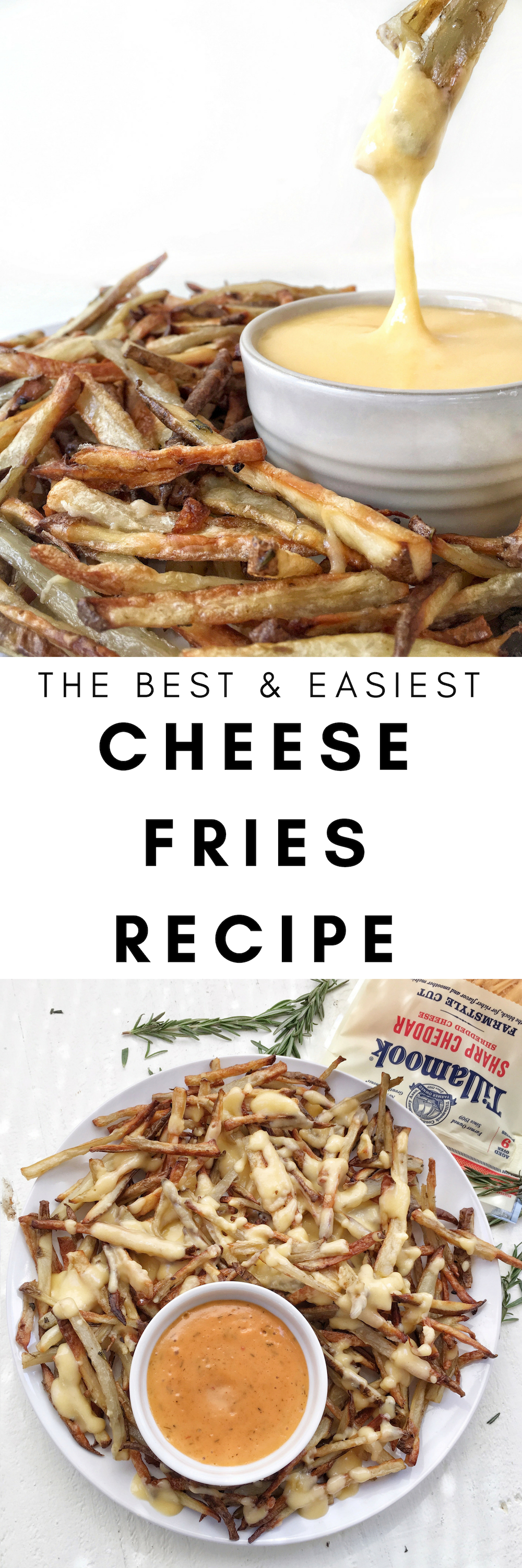 the best & easiest cheese fries