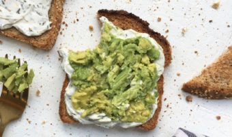 Cream Cheese Vegan Avocado Toast Recipe