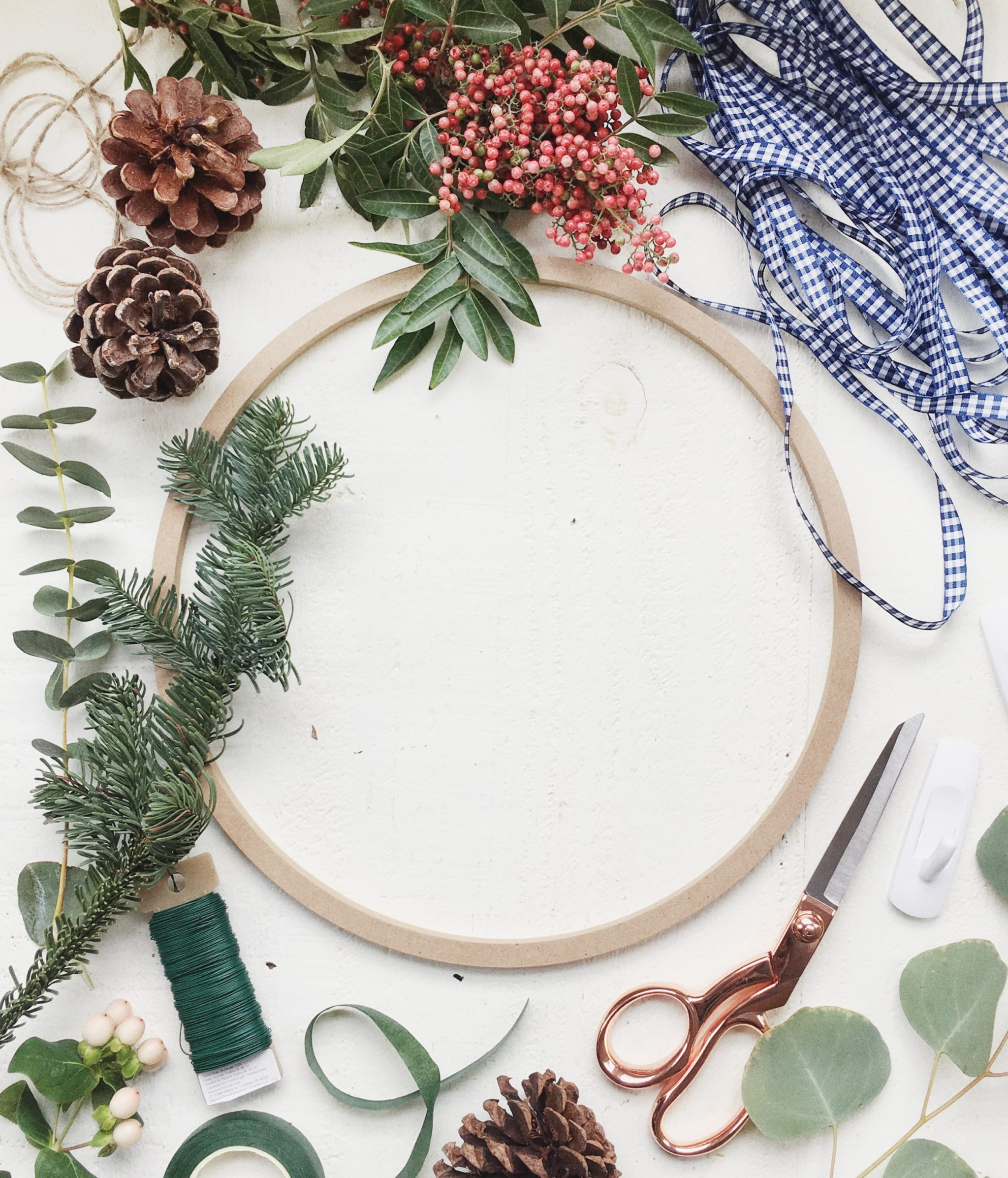 Holiday Wreath Tutorial