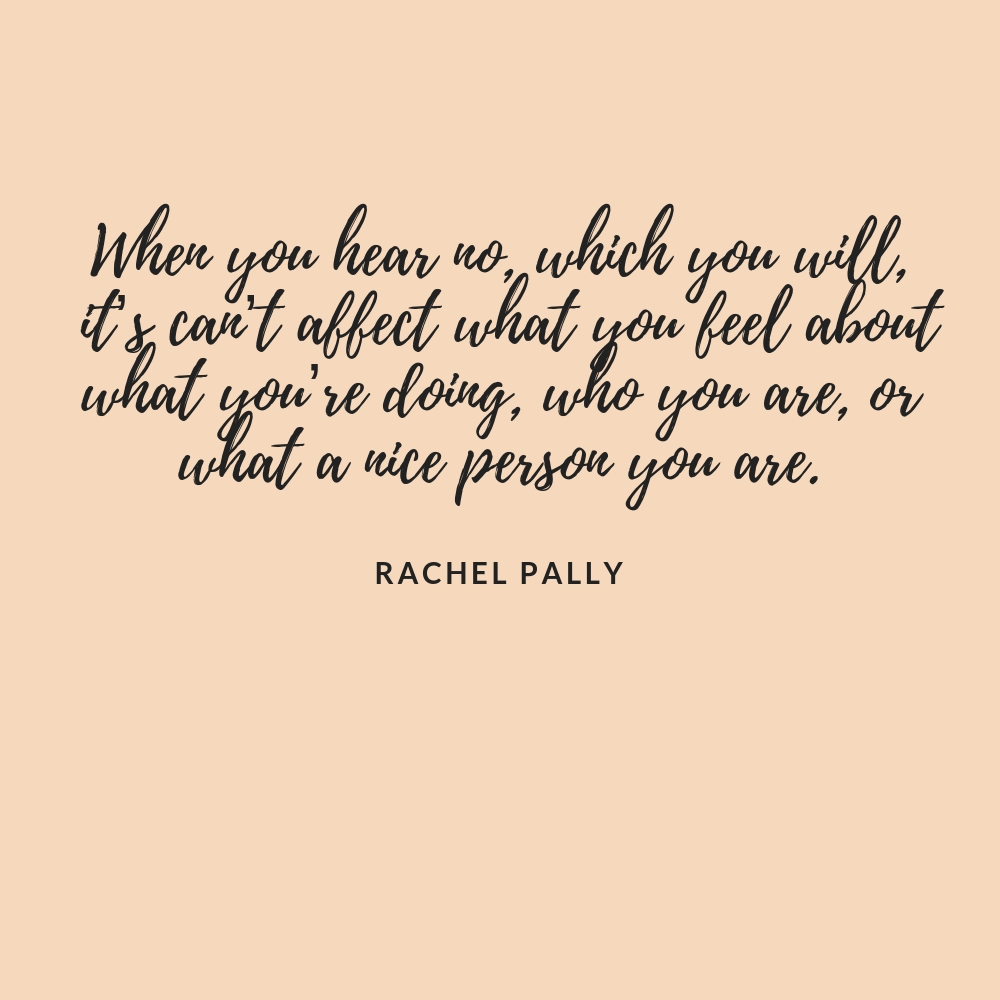 Rachel Pally Interview Quote