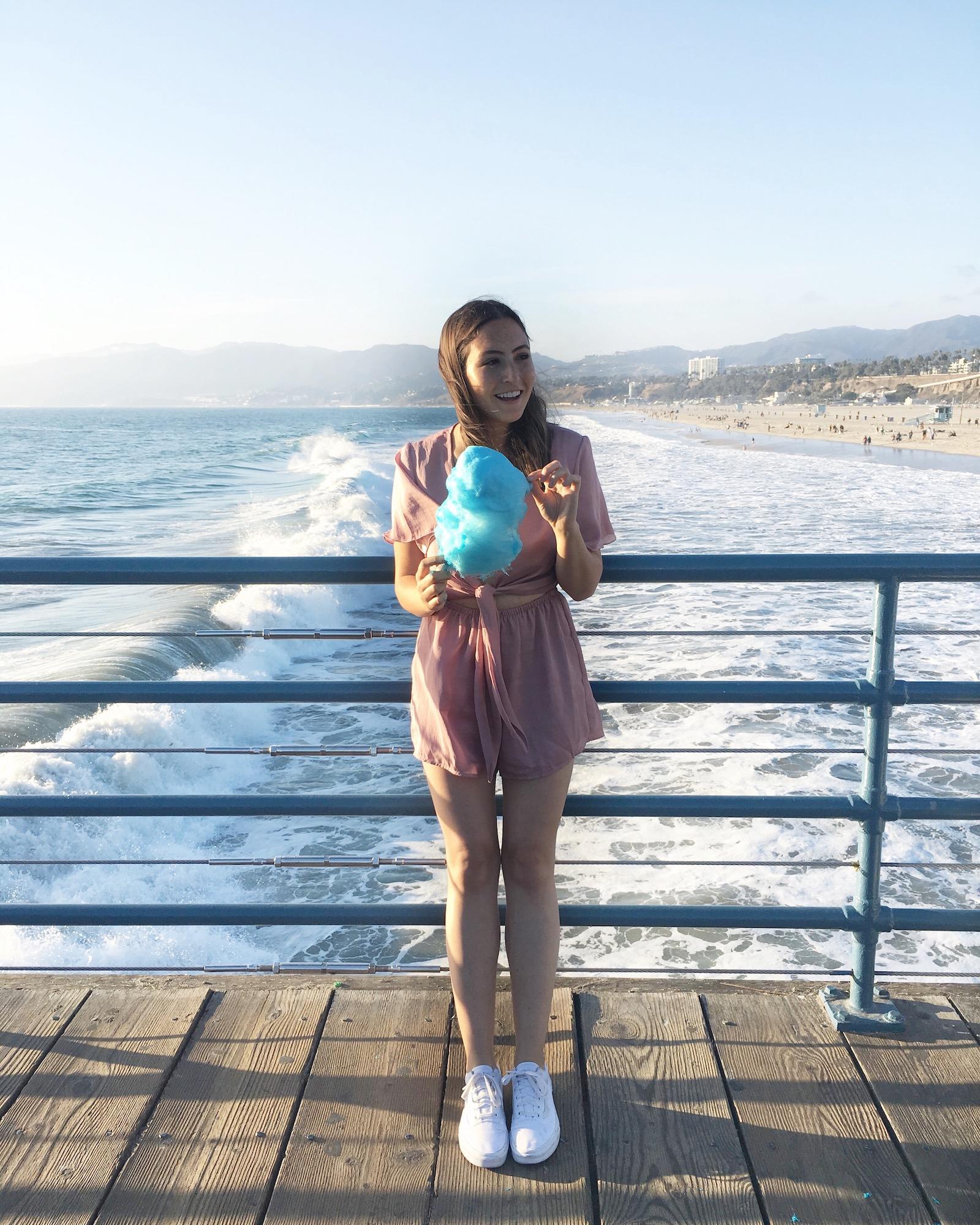Santa Monica Pier Cotton Candy