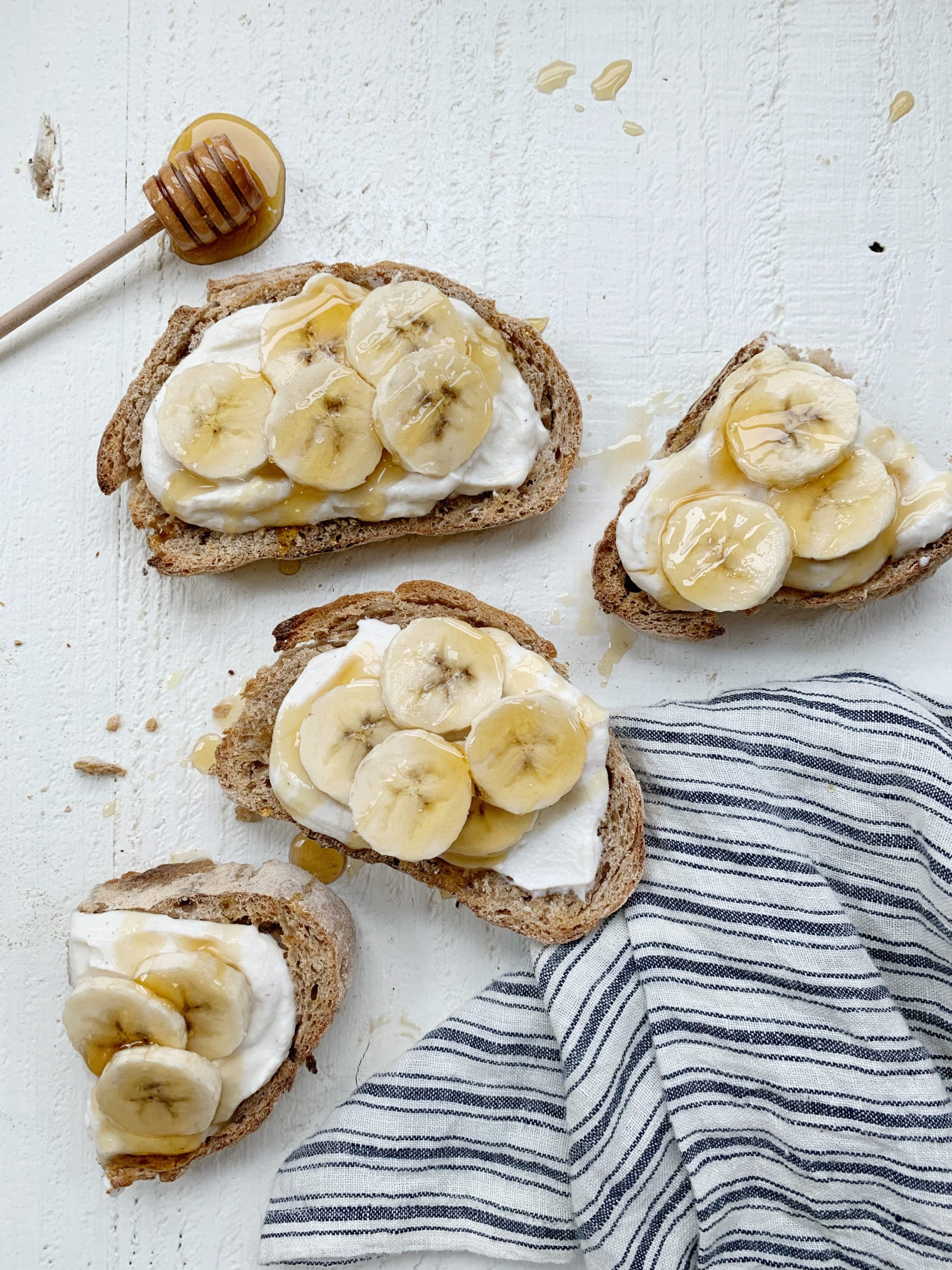 Whipped Honey Ricotta Toast Recipe