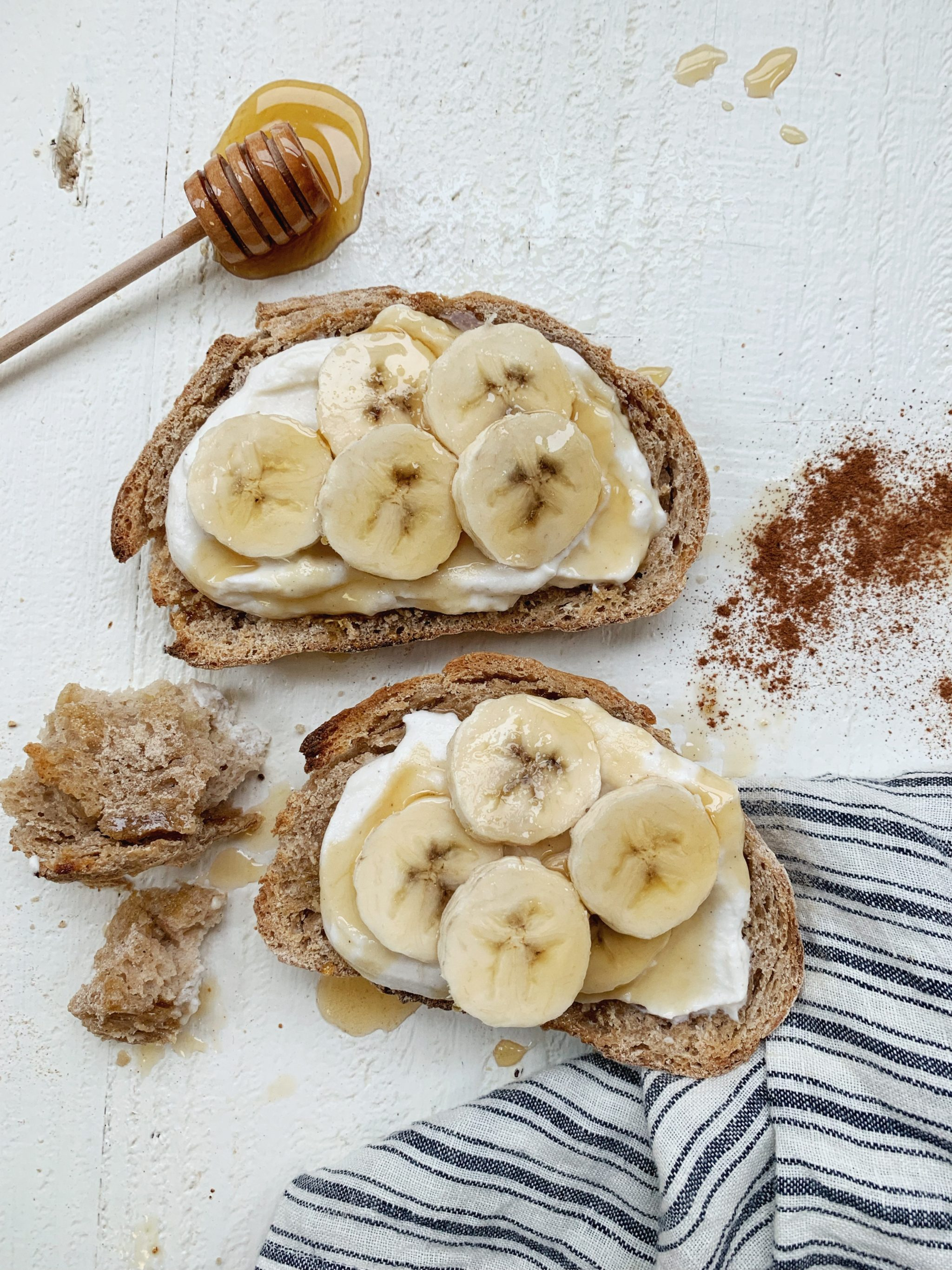 Whipped Honey Ricotta Toast