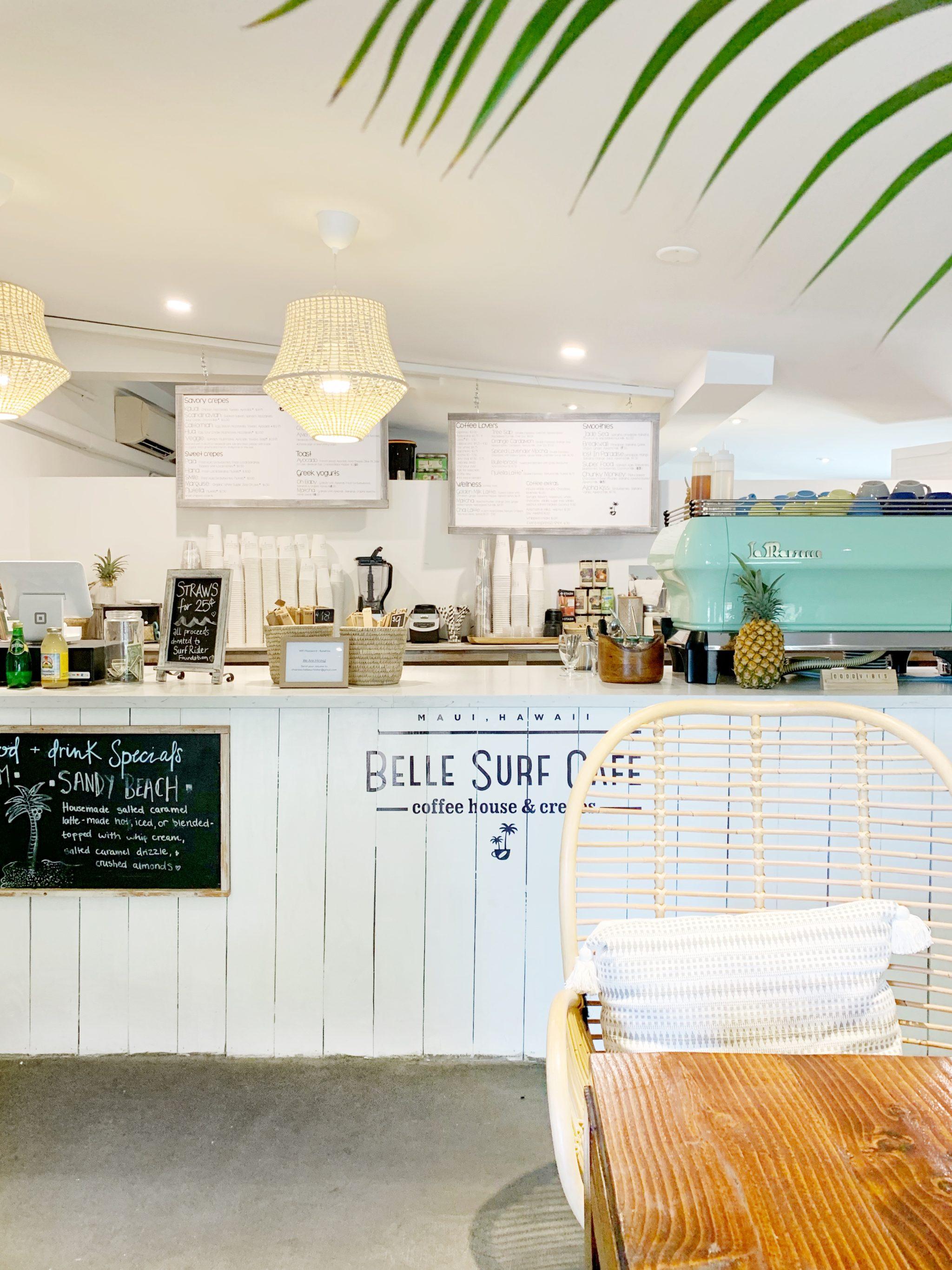 Belle Surf Cafe Maui
