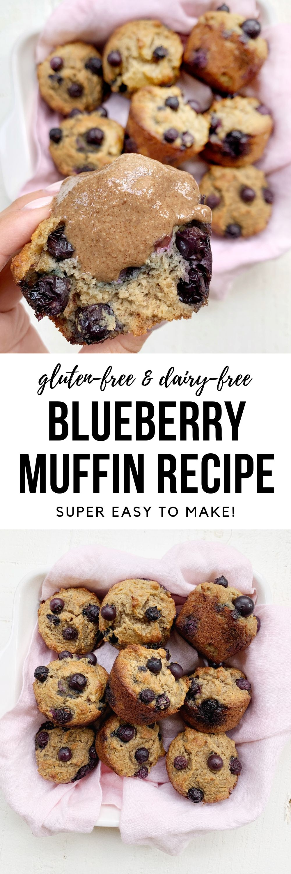 gluten-free & dairy-free blueberry muffin recipe