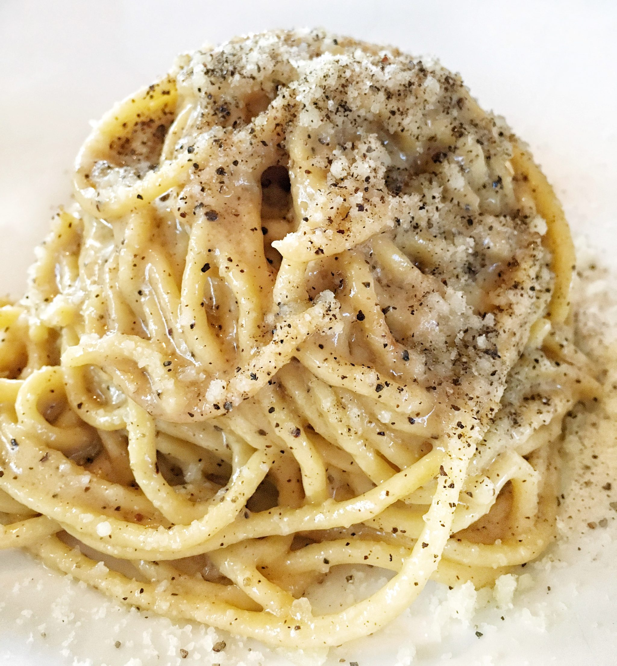 Cacio e Pepe Rose Cafe