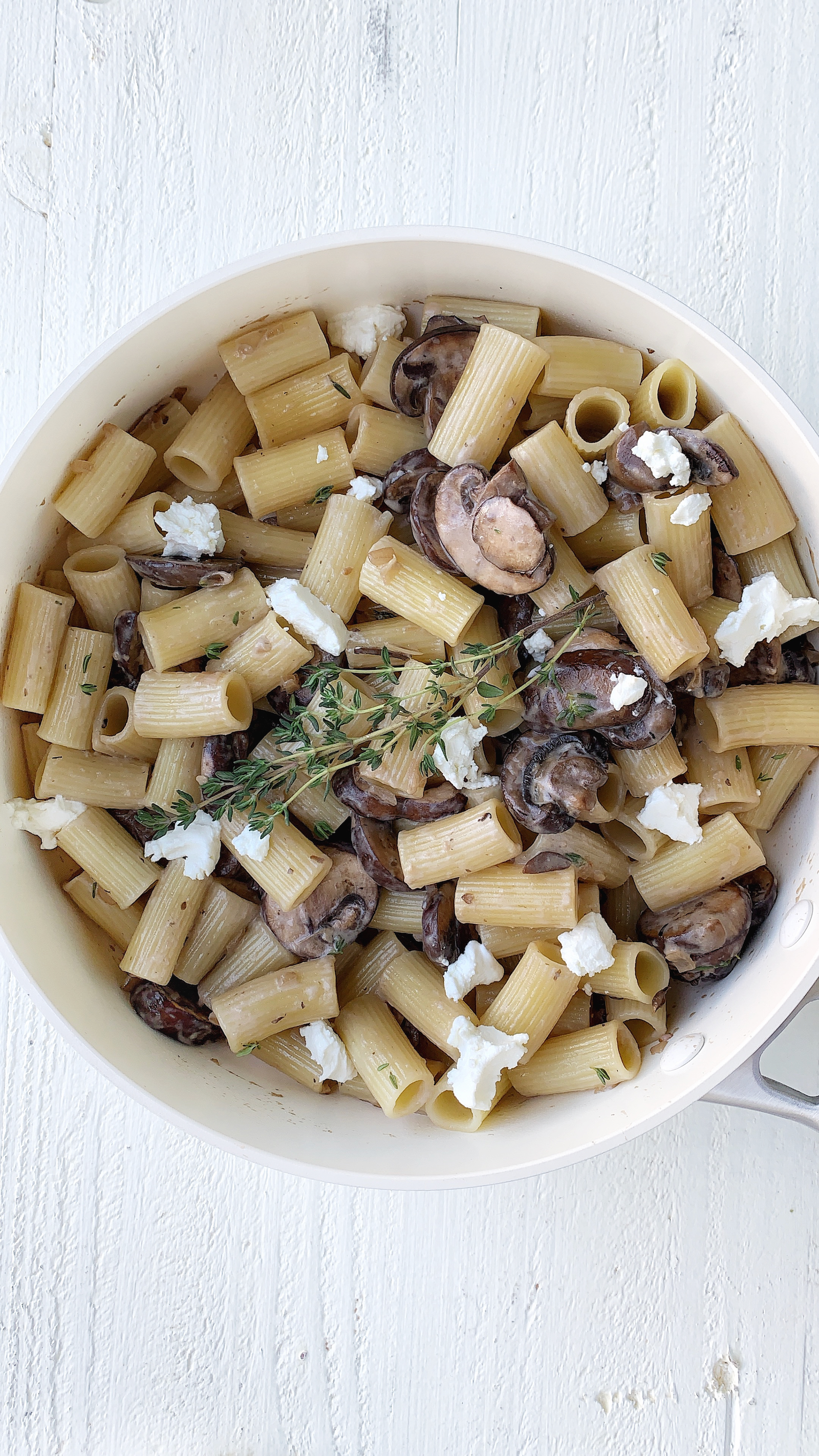 Goat Cheese Pasta Recipe