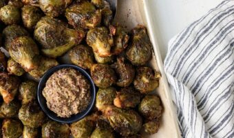 Honey Mustard Brussels Sprouts Recipe
