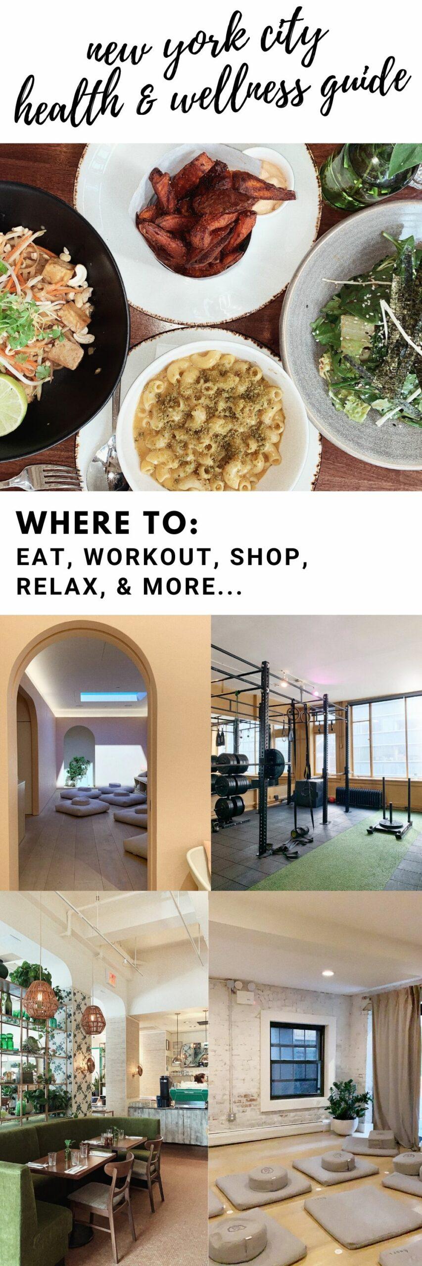 NYC Health Wellness Guide