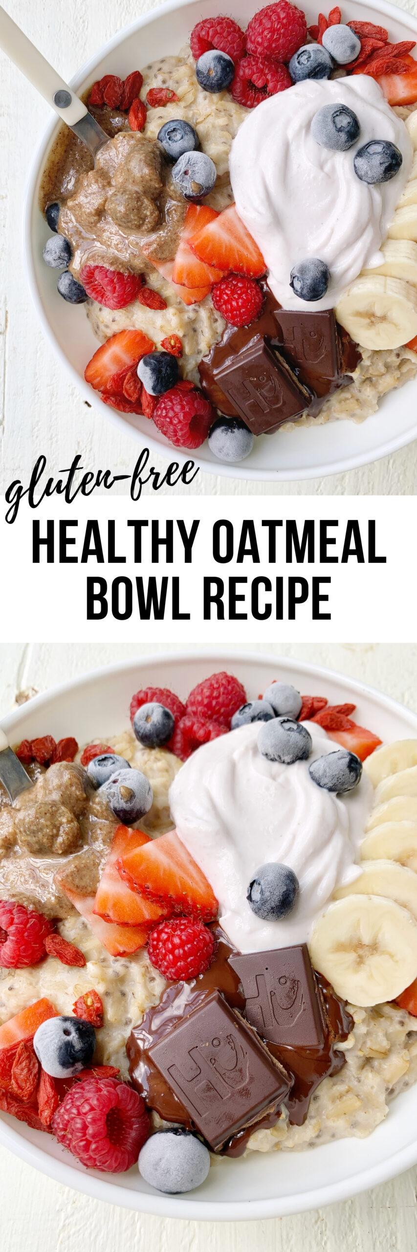 gluten free oatmeal recipe