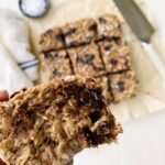 4 Ingredient Gluten-Free Banana Bread Bars