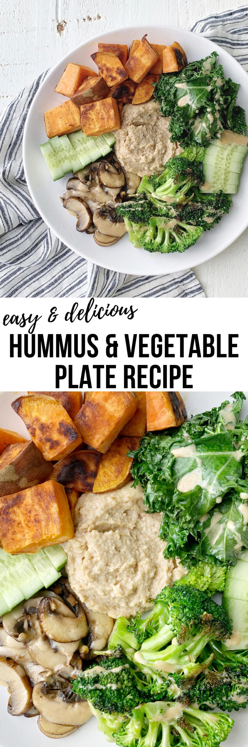 vegetable hummus recipe