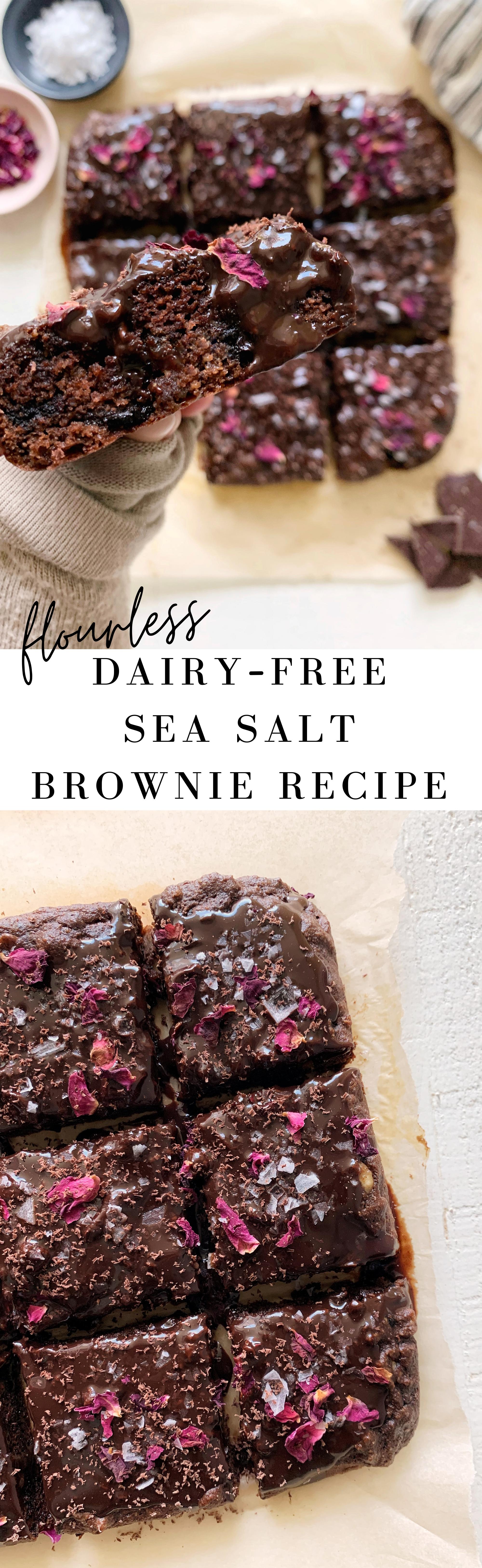 flourless dairy free brownie recipe