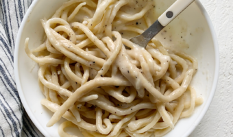 homemade cacio e pepe recipe
