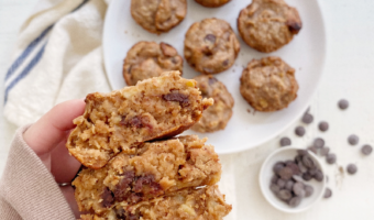 Gluten-Free Banana Chocolate Chip Muffins Recipe