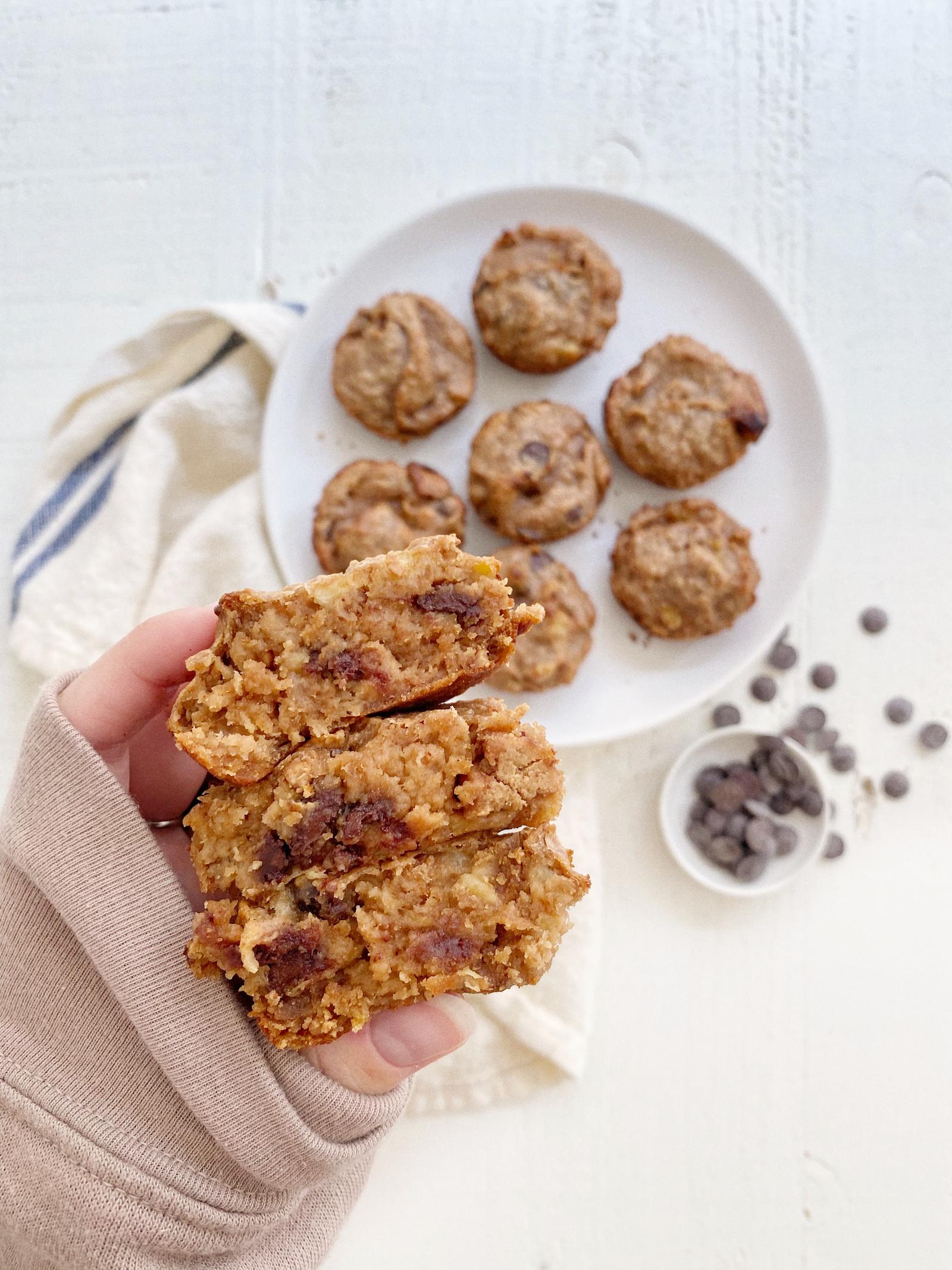 Gluten-Free Banana Chocolate Chip Muffins Recipe