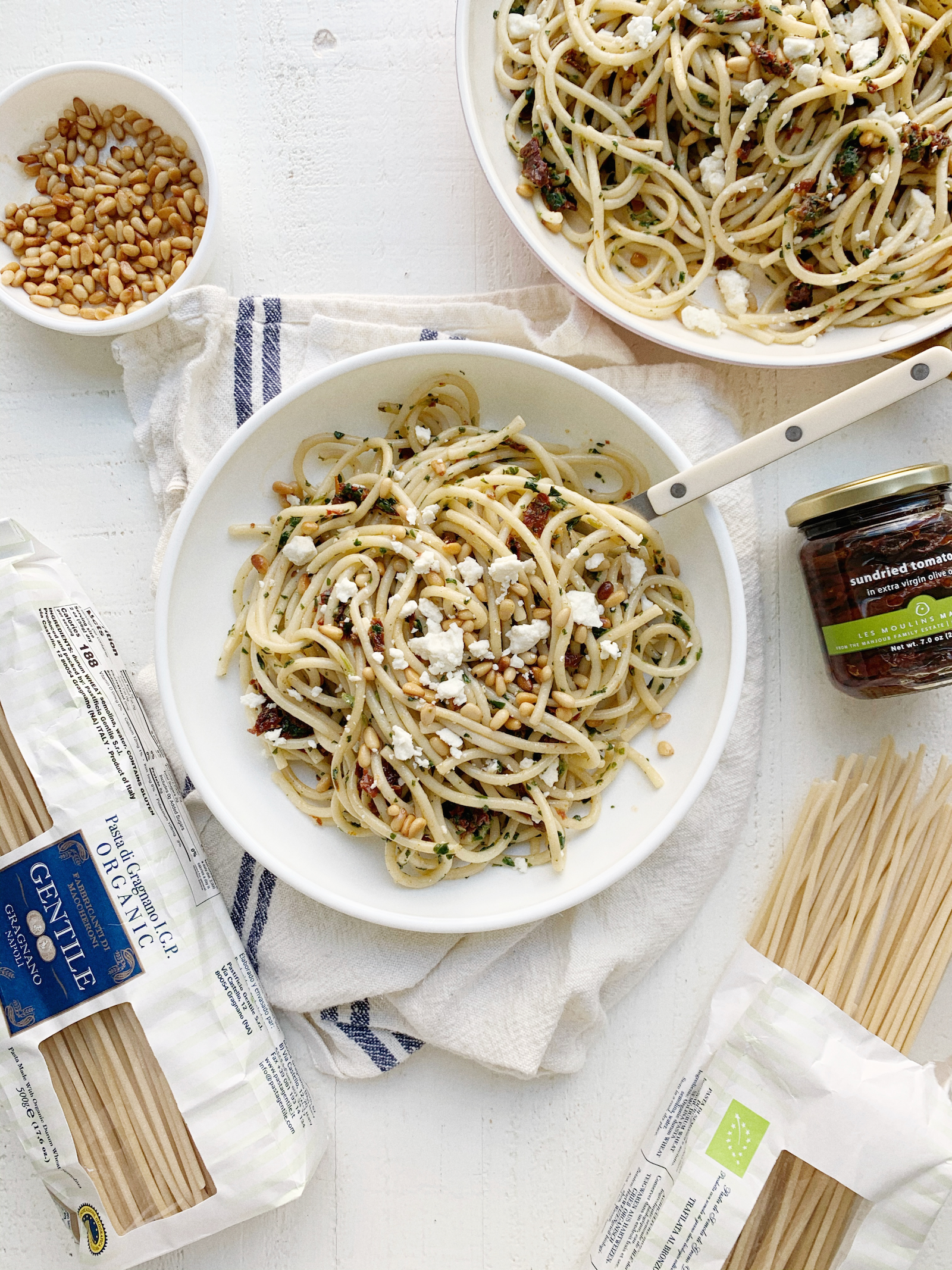 fresh mediterranean pasta recipe