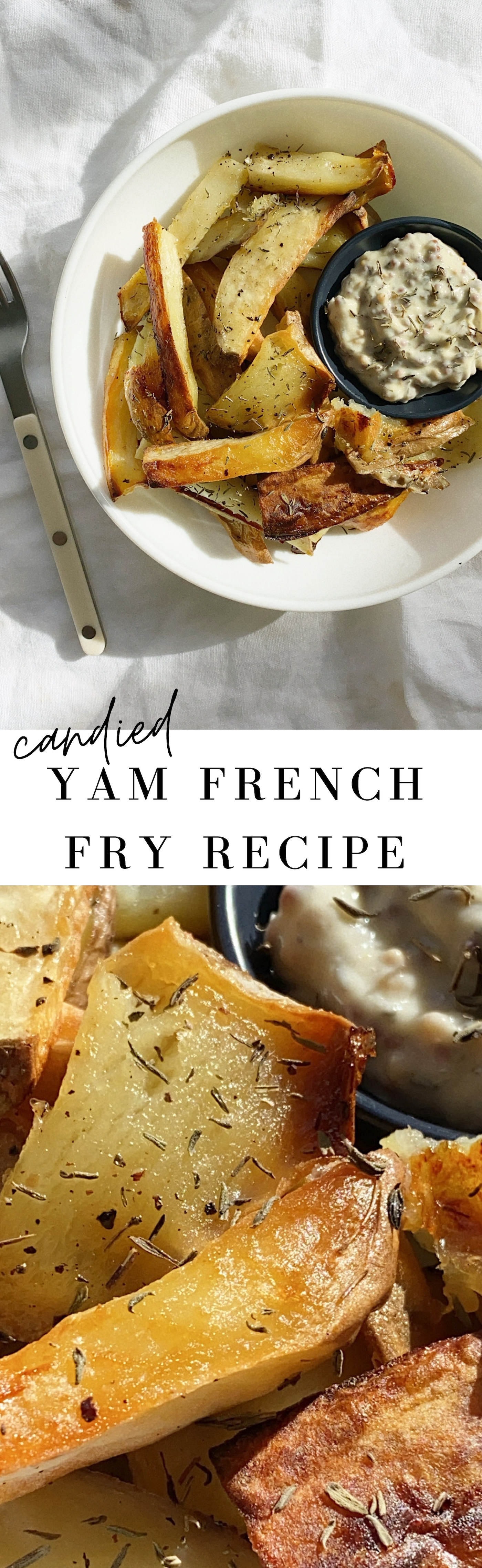 Candied Yam Fry Recipe