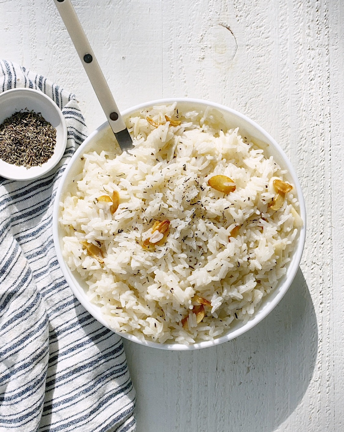 GARLIC BUTTER RICE RECIPE
