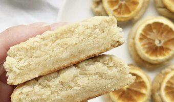 Gluten Free Orange Cookies