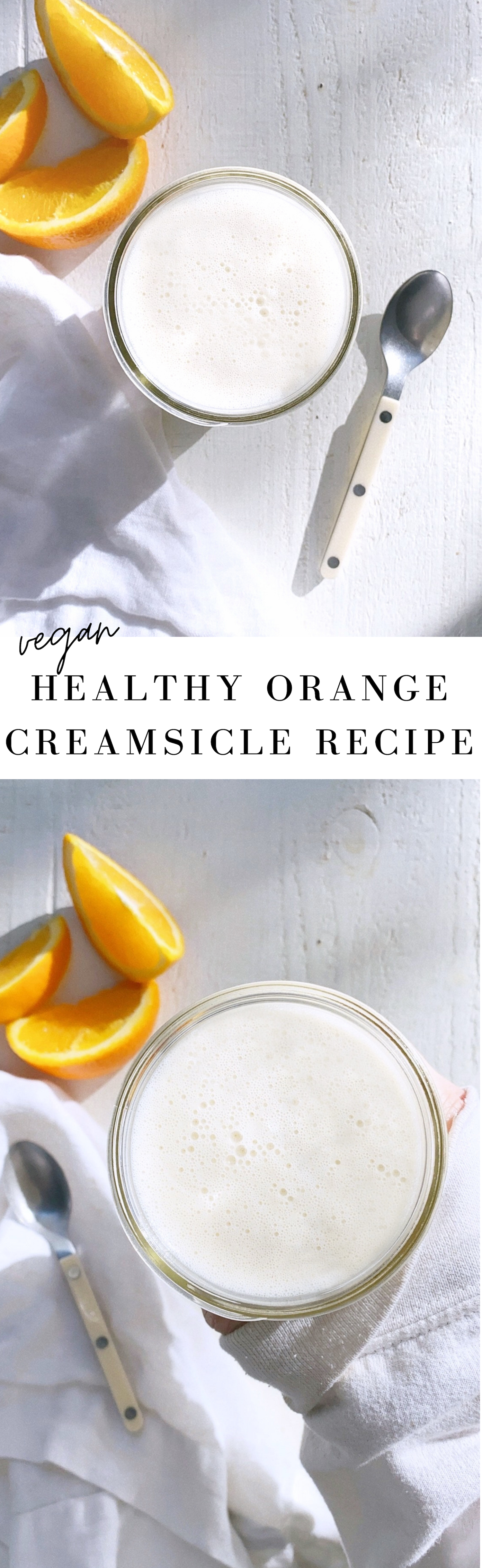 Healthy Orange Creamsicle Smoothie Recipe