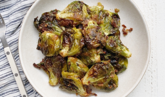 Chili Garlic Brussels Sprouts Recipe